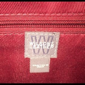 Wilsons Leather Bags - Vintage Wilson's Leather red messenger bag